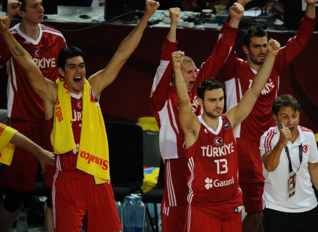 Basket ball turquie de france - Final coupe du monde 2010 match complet ...